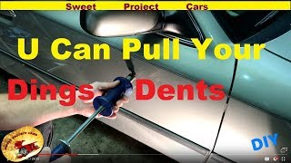 #2 How To Remove Simple Door DINGS & DENTS for DIY'ers