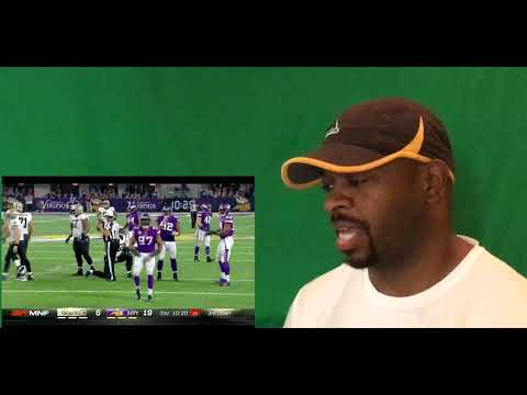 Saints vs. Vikings | NFL Week 1 Game Highlights | Reaction