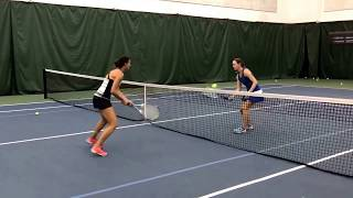 Tuesday Tennis Tips: The touch drill at the net