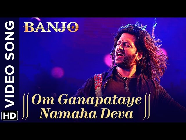 Om Ganapataye Namaha Deva Full Video Song | Banjo Movie Songs | Riteish