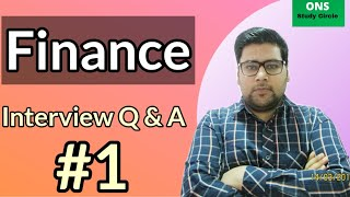 Finance Interview Questions And Answers   Finance Interview