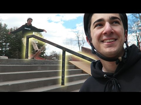MY BIGGEST HANDRAIL! (Bristol Skate Plaza)
