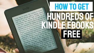 How to Get Hundreds of Kindle eBooks Free