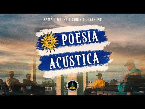Poesia Acústica Uruguay Xamã Knust Chris Cesar Mc Ep Júpiter Dayane