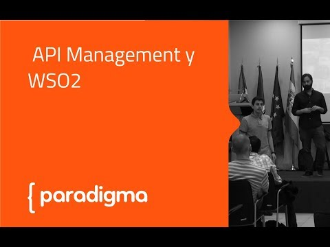 [Meetup] API Management y WSO2