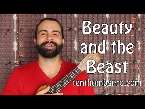 mp4 Beauty And The Beast Ukulele Chord, download Beauty And The Beast Ukulele Chord video klip Beauty And The Beast Ukulele Chord