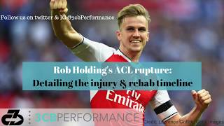 Arsenal Rob Holding's ACL Rupture: The injury, return to play, and risks