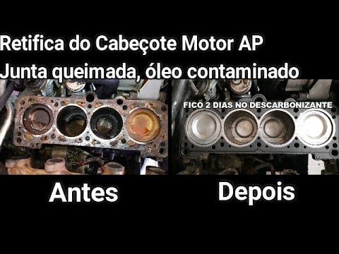 Retifica do cabeçote do motor AP Gol, Voyage, Parati, Santana, - DR Auto Mecânica