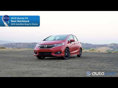 2018 Honda Fit Wins AutoWeb Buyer