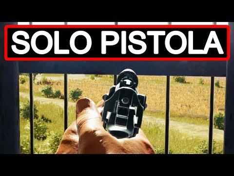 ¡SOLO PISTOLA Y BALLESTA! - PLAYERUNKNOWN'S BATTLEGROUNDS (PUBG) GAMEPLAY ESPAÑOL | Winghaven