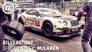 [Top Gear] Chris Harris at The Races: Bentley Continental GT3 & McLaren 650S GT3