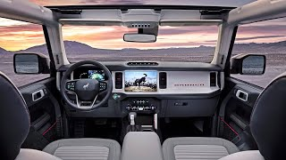 2021 Ford Bronco - INTERIOR