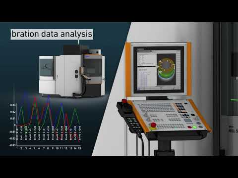 Milling machines - Speed and high surface quality, the Automated Machine Calibration