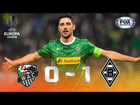 VITÓRIA ALEMÃ! Borussia Mönchengladbach  vence Wolfsberg pela Europa League