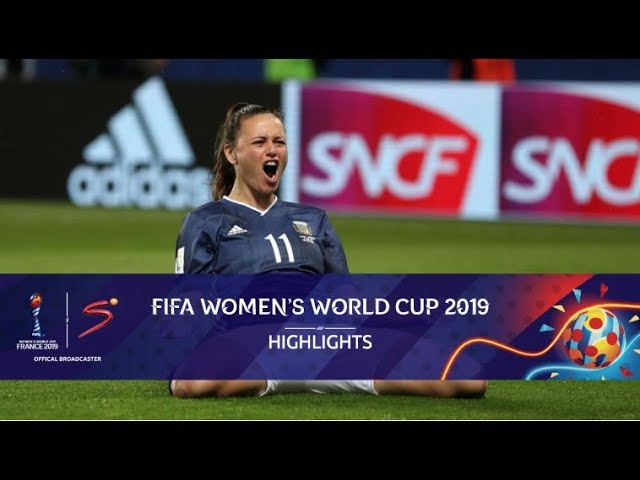 FIFA Women's World Cup | Scotland vs Argentina | Highlights