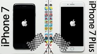 iPhone 7 vs. iPhone 7 Plus Speed Test