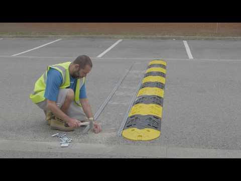 Seton Speed Bump - Rail Fix Installation