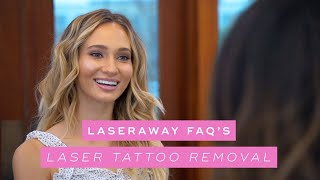 Most Common Questions About Laser Tattoo Removal | LaserAway