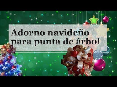 ADORNO PARA ÁRBOL DE NAVIDAD!! FACIL