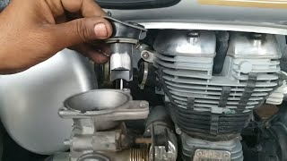 mileage and pickup problem for Royal Enfield