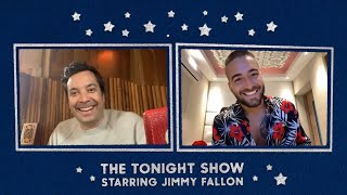 """Maluma Tests Jimmy's Spanish and Talks Growing Old with His """"ADMV"""" thumbnail"""
