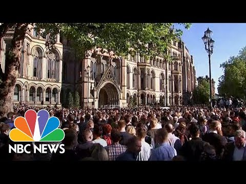 Vigil For Manchester Arena Attack Victims | NBC News