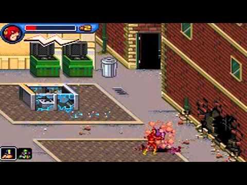 Héros de la Ligue des Justiciers : Flash GBA