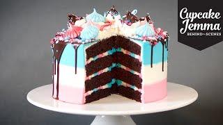Behind the Scenes Making a Space Unicorn Cake | Cupcake Jemma