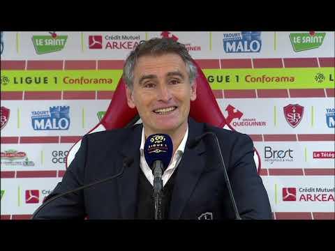 Stade Brestois 0 - 1 Angers SCO : la réaction des coaches