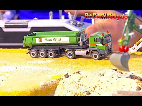 AMAZING 1/87-SCALE R/C ACTION At Model Fair Friedrichshafen 2018 - Part 4