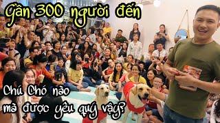 Cực Shock! Gần 300 Người Đến Dự Offline Chú Chó Củ Cải Tại Sài Gòn