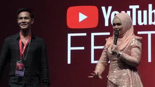 Youtuber Alieff Irfan Dijemput Siti Nurhaliza Jadi Penari Masa Lagu TERANG di Youtube Festival