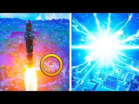 SEASON 5 ROCKET LAUNCH CRASH SITE | Fortnite Battle Royale