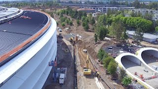 APPLE PARK: MID-APRIL 2017 | THE FINISHING TOUCHES