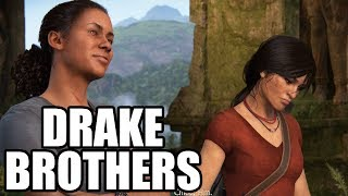 UNCHARTED The Lost Legacy - Nadine Talks About The Drake Brothers