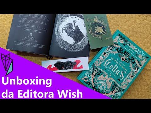 UNBOXING da compra na @Editora Wish + Detalhes da edições ??   Biblioteca da Rô