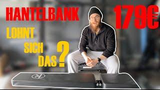 Verstellbare Hantelbank Stronggains WB1 NUR 179€ - Lohnt sich das?