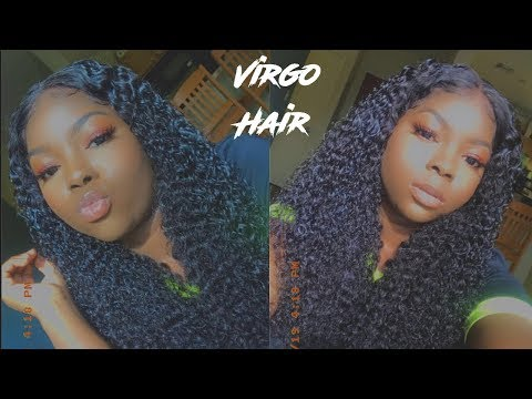 Affordable Curly Wig + Installation|Ft Aliexpress Virgo Hair