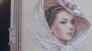 Вышивка/Сиреневый вечер/Риолис/отчет/СП Женский образ или Красота спасет мир