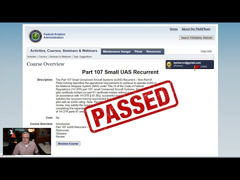 HOW TO take the FAA Recurrent Part 107 Test (With Answers ...