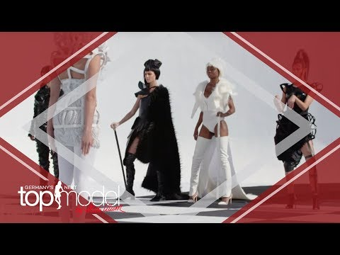 Der schwierige Schachbrettwalk   Germany's next Topmodel 2017   ProSieben