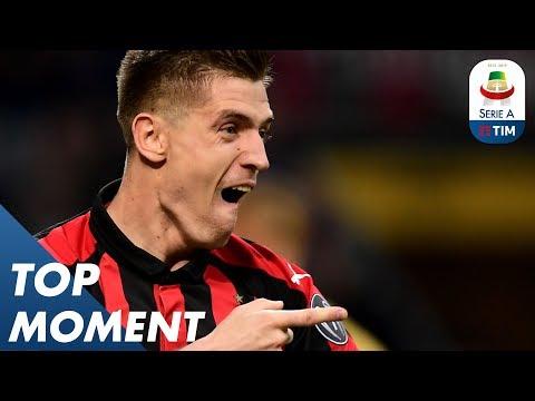 Piątek Opens the Scoring!   Juventus 2-1 Milan   Top Moment   Serie A
