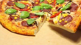 პიცის რეცეპტი რომელმაც დაიპყრო ინტერნეტ სივრცე,საუკეთესო პიცის ცომი,PIZZA,პიცა,пицца,პიცის მომზადება