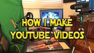 How I Make YouTube Videos - Studio Tour January 2018