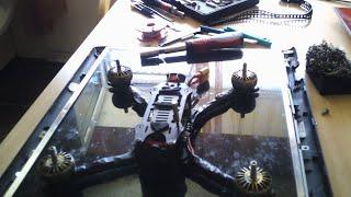 Fpv drone rebuild, change parts, testing.