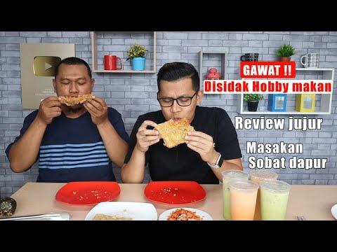 Bang evan hobby makan review jujur masakan sobat dapur roti geprek sambal bawang