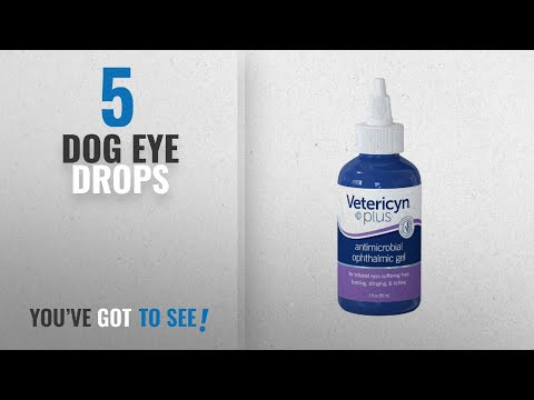 Top 5 Dog Eye Drops [2018 Best Sellers]: Vetericyn Plus All Animal Antimicrobial Ophthalmic Gel |