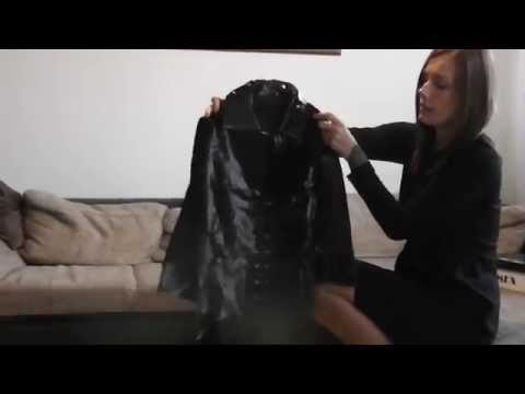Danielas FashionCheck #028: Booties (Ankle-Boots/High-Heel)/Overknee-Socks/Lack-Jacke