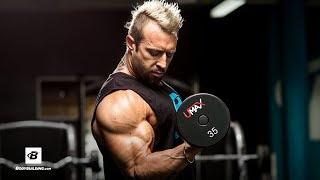 Kris Gethin Explains Arm Training + Q&A by Bodybuilding.com