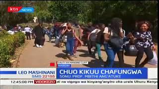 Mmoja wa viongozi wa wanafunzi wa chuo kikuu cha Nairobi, Manono Cliff azungumzia kisa